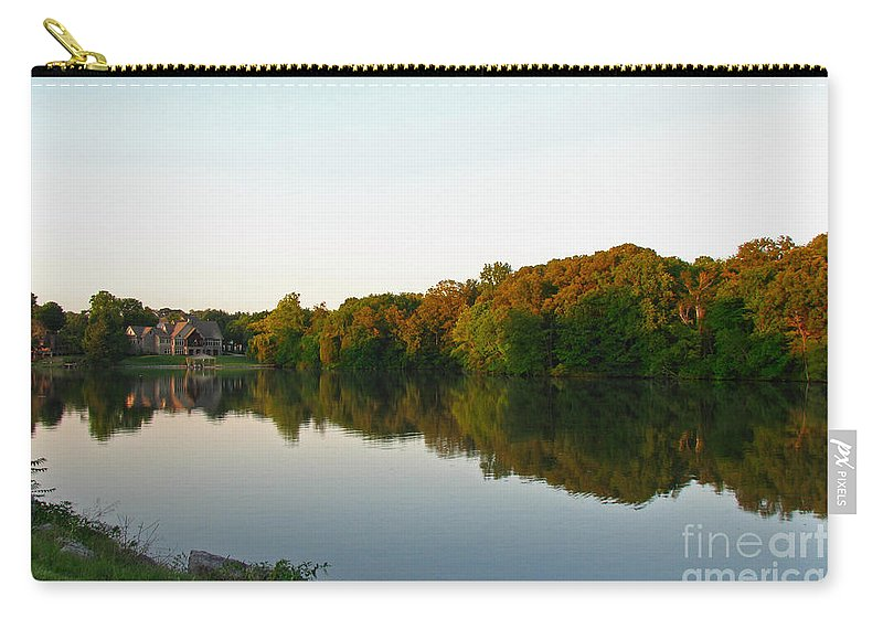 Landscape Carry-all Pouch featuring the photograph An Excellent Vantage Point by Todd Blanchard