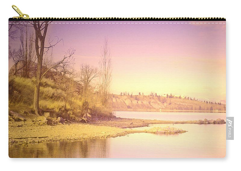 Lake Carry-all Pouch featuring the photograph An Okanagan Calm by Tara Turner