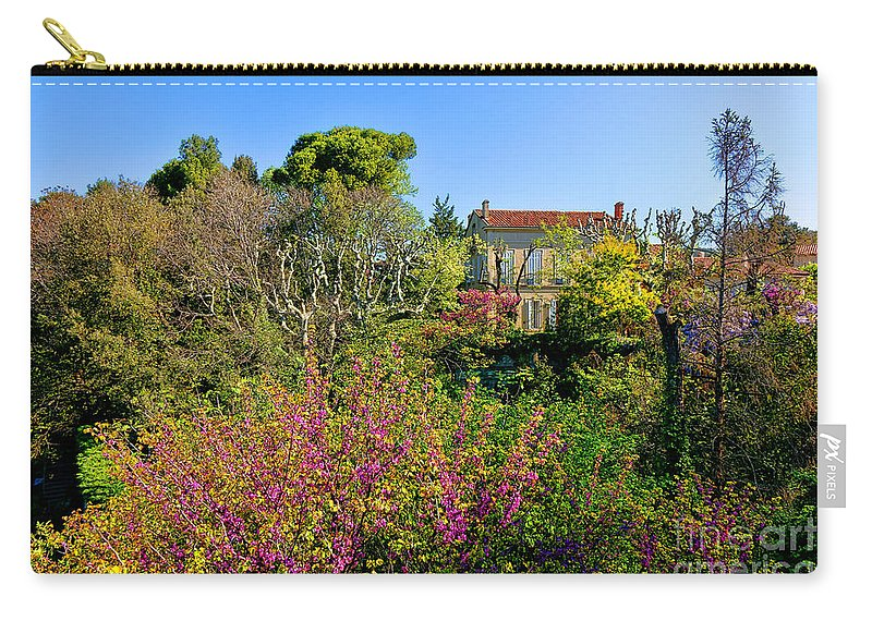 Provence Carry-all Pouch featuring the photograph An Old House In Provence by Olivier Le Queinec