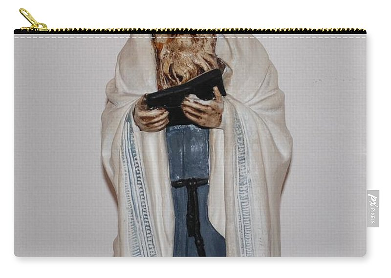 Rabbi Carry-all Pouch featuring the photograph An Old Rabbi by Rob Hans