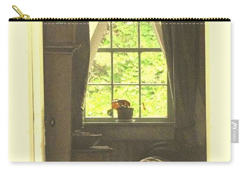 Pioneer Carry-all Pouch featuring the photograph An Open Door by Ian MacDonald