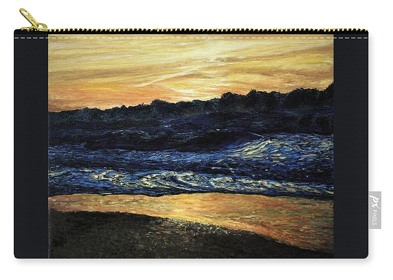 Landscape Carry-all Pouch featuring the painting Anarchy by Pablo de Choros