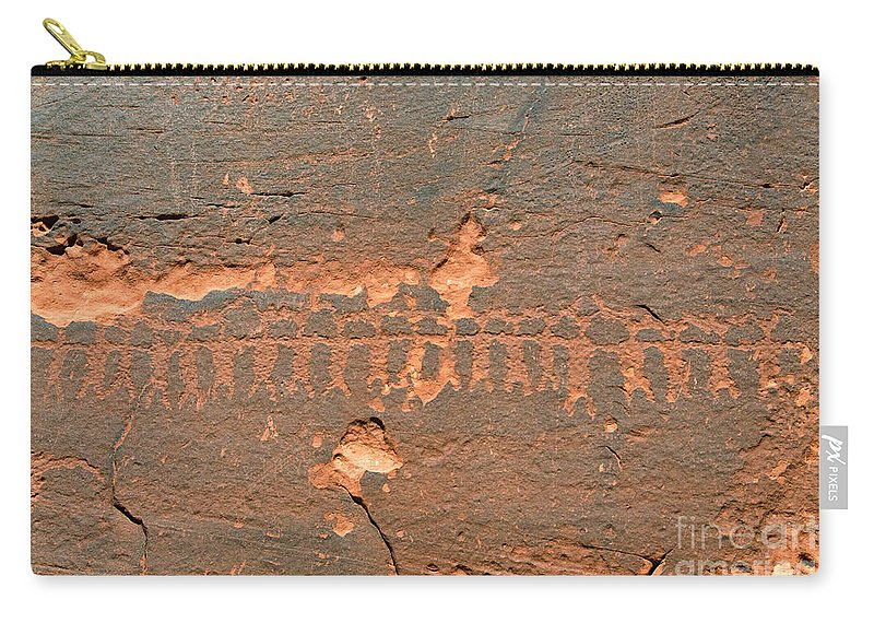 Anasazi Carry-all Pouch featuring the photograph Anasazi Dancers by David Lee Thompson
