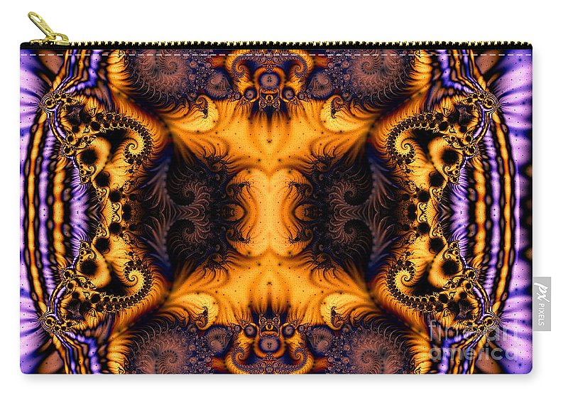Clay Carry-all Pouch featuring the digital art Anatomy Of Fuzzy Logic by Clayton Bruster