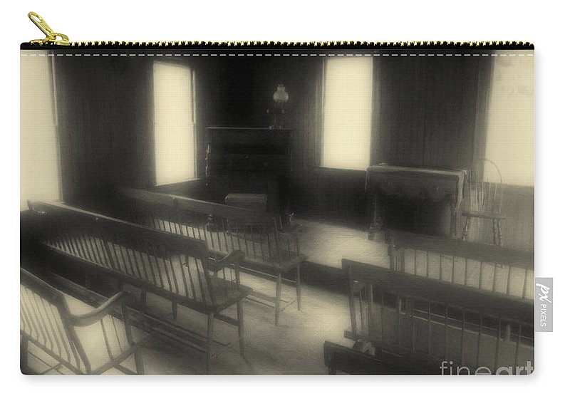 Benches Carry-all Pouch featuring the photograph Ancestor Worship by RC DeWinter