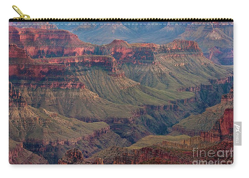 Dave Welling Carry-all Pouch featuring the photograph Ancient Formations North Rim Grand Canyon National Park Arizona by Dave Welling