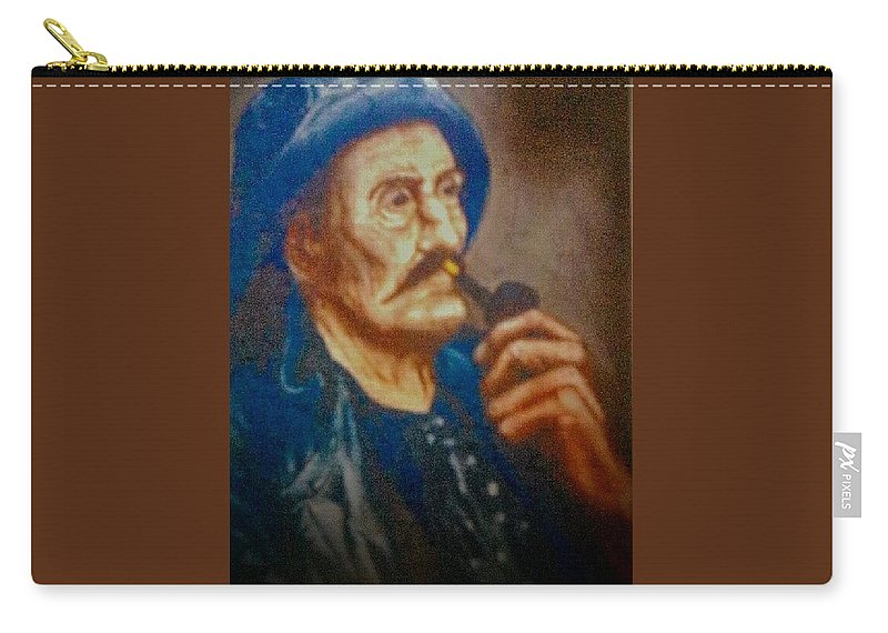 Carry-all Pouch featuring the painting Ancient Mariner by Patricia Ducher
