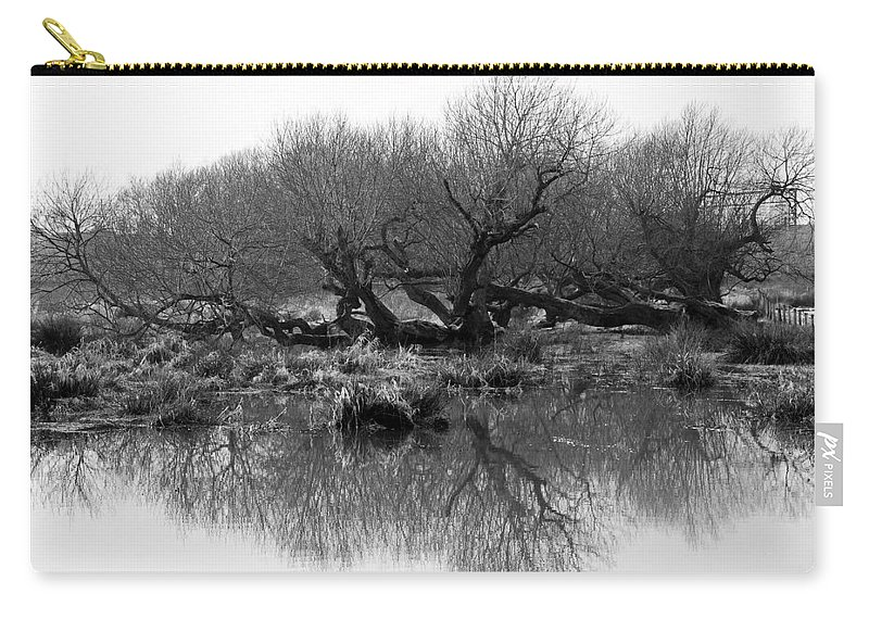 Trees Carry-all Pouch featuring the photograph Ancient Pollard Trees by Bob Kemp