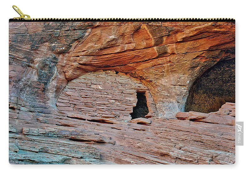 Mystery Valley Carry-all Pouch featuring the photograph Ancient Ruins Mystery Valley Colorado Plateau Arizona 05 by Thomas Woolworth