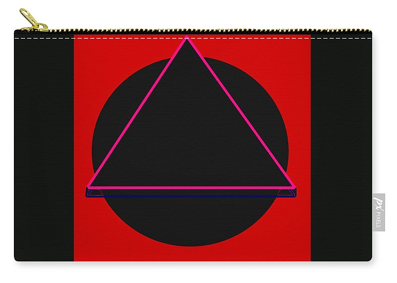 Social Justice Art Carry-all Pouch featuring the digital art And It Flowed by Pharris Art