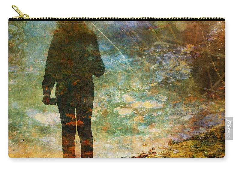 Shoes Carry-all Pouch featuring the photograph And Then He Turned Her World Upside Down by Tara Turner