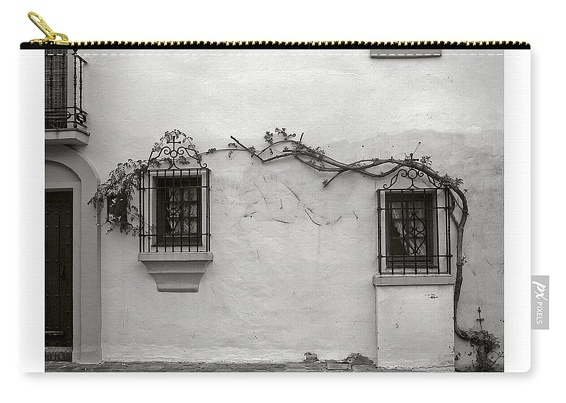 Andalucia Carry-all Pouch featuring the photograph Andalucia Wall by Thomas Marchessault