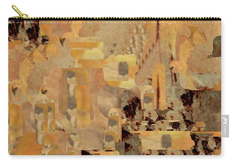 Digital Art Carry-all Pouch featuring the digital art Andalusian Adventure by Nancy Kane Chapman