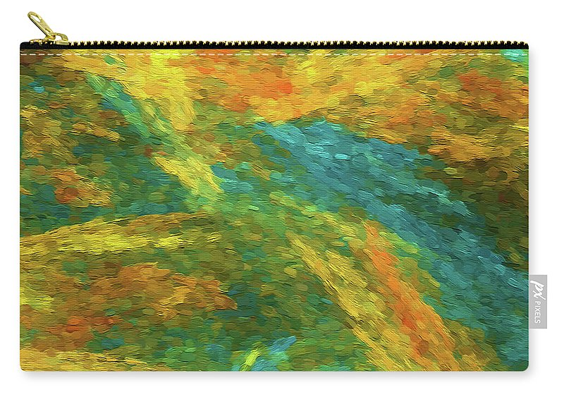 Square Carry-all Pouch featuring the photograph Andee Design Abstract 16 B 2018 by Andee Design