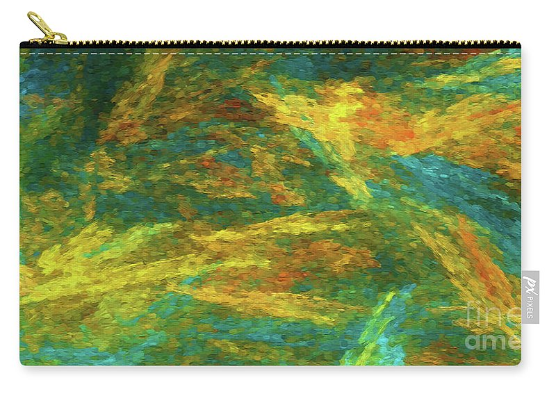 Panorama Carry-all Pouch featuring the photograph Andee Design Abstract 16 C 2018 by Andee Design