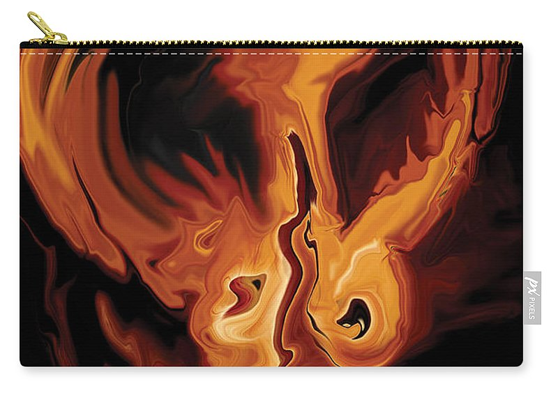Ability Carry-all Pouch featuring the digital art Angel Dance by Rabi Khan