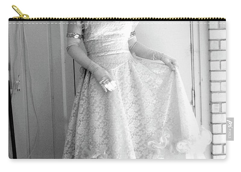 Angel Carry-all Pouch featuring the photograph Angel In My Backyard by James W Johnson