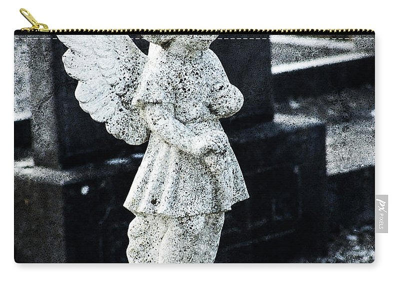 Ireland Carry-all Pouch featuring the photograph Angel In Roscommon No 3 by Teresa Mucha