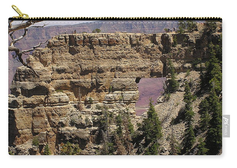 Grand Canyon Carry-all Pouch featuring the photograph Angel by Louise Magno