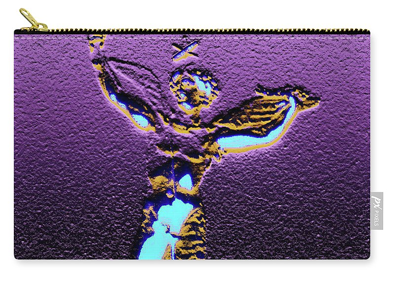 Angel Carry-all Pouch featuring the digital art Angel by Marc Dettloff