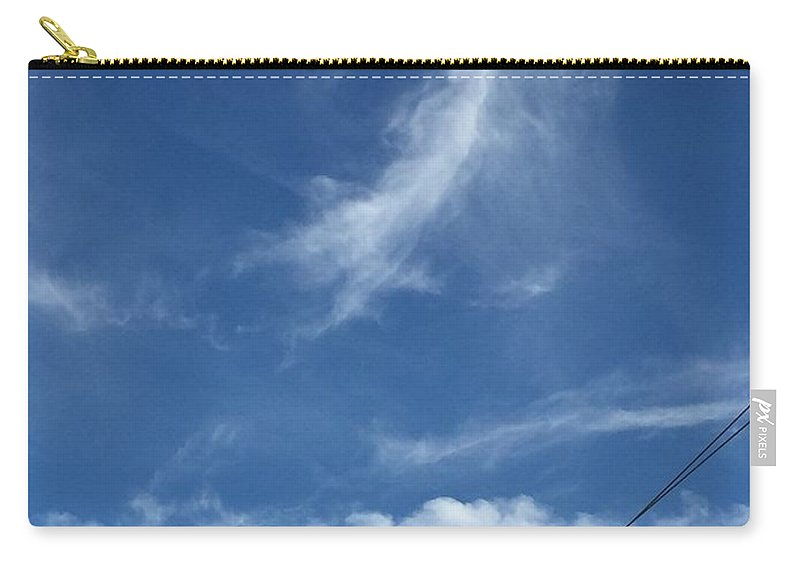 Angels Carry-all Pouch featuring the photograph Angel Over Two Notch Road by Matthew Seufer