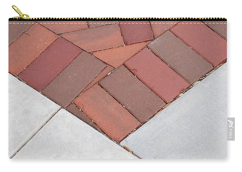 Bricks Carry-all Pouch featuring the photograph Angles by Rob Hans