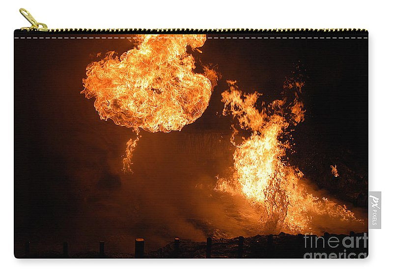 Clay Carry-all Pouch featuring the photograph Angry Face by Clayton Bruster