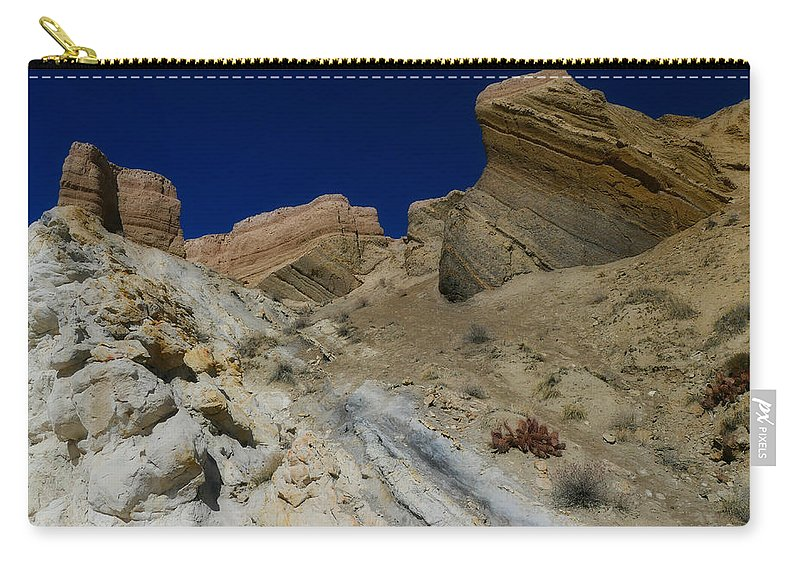 New Mexico Carry-all Pouch featuring the photograph Angular Unconformity by Jane Selverstone