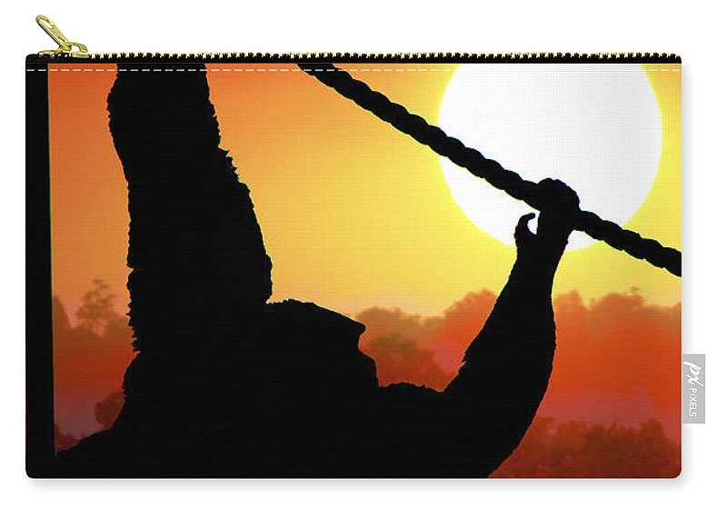 Animals Carry-all Pouch featuring the photograph Animals 67 by Ben Yassa
