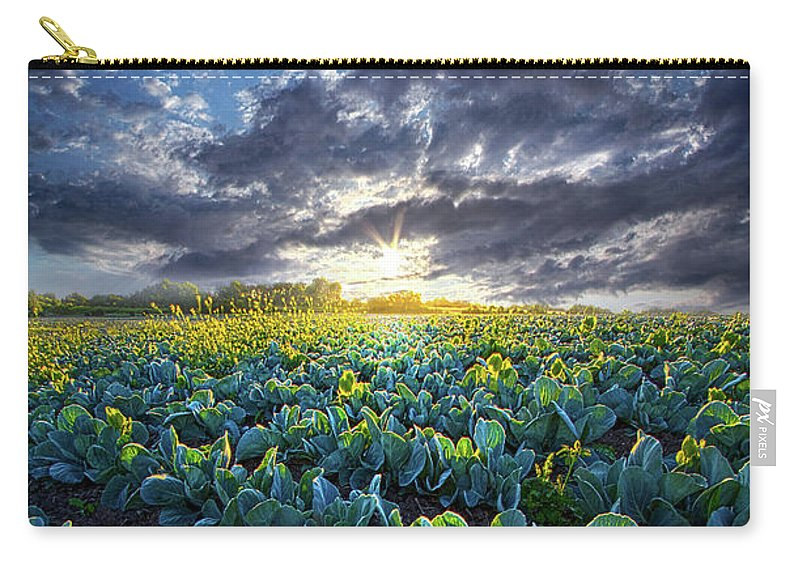 Summer Carry-all Pouch featuring the photograph Ankle High In July by Phil Koch