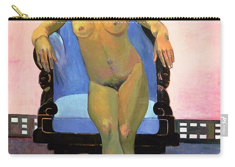 Gauguin Carry-all Pouch featuring the painting Annah The Javanese by Paul Gauguin