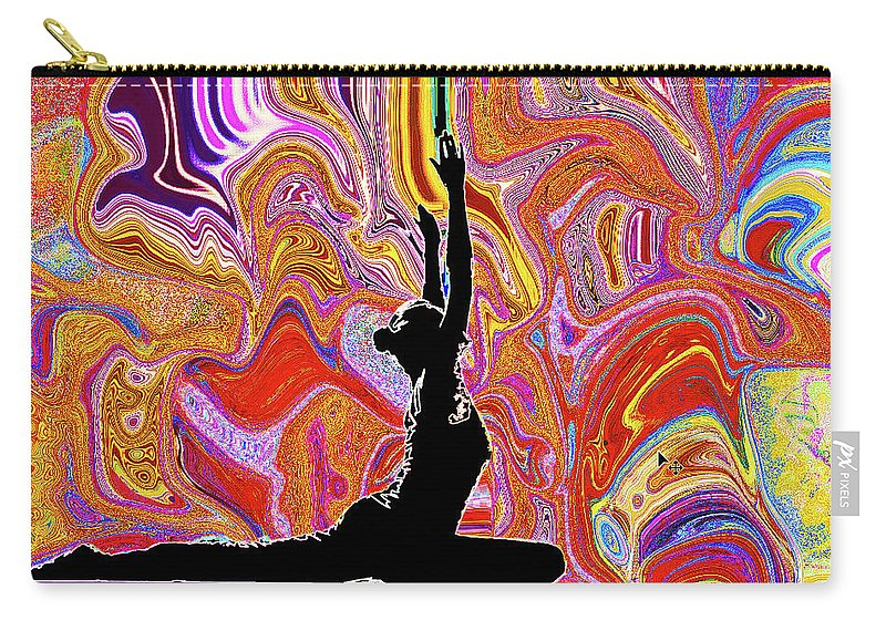 Yoga Carry-all Pouch featuring the photograph Anne by Luke Golobitsh
