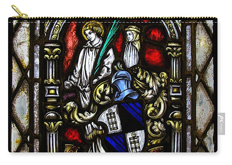Stained Glass Carry-all Pouch featuring the photograph Anno Domini by Colleen Kammerer