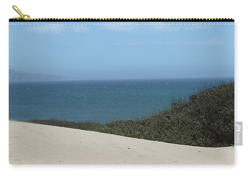 ano Nuevo Carry-all Pouch featuring the photograph Ano Neuvo by Amanda Barcon
