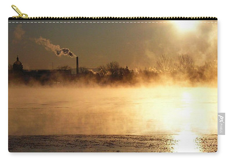 North America Carry-all Pouch featuring the photograph Another Cold Day by Juergen Weiss