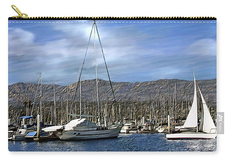 Ocean Carry-all Pouch featuring the photograph Another Sunny Day by Kurt Van Wagner