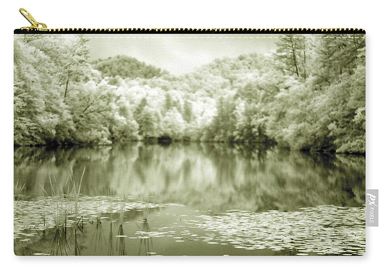 Infrared Carry-all Pouch featuring the photograph Another World by Alex Grichenko