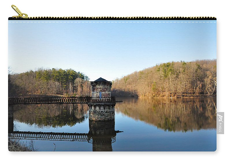 Antietam Carry-all Pouch featuring the photograph Antietam Creek by Bill Cannon