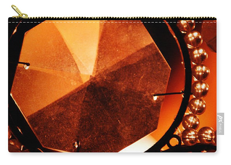 Antique Carry-all Pouch featuring the photograph Antique Glass by Jill Reger