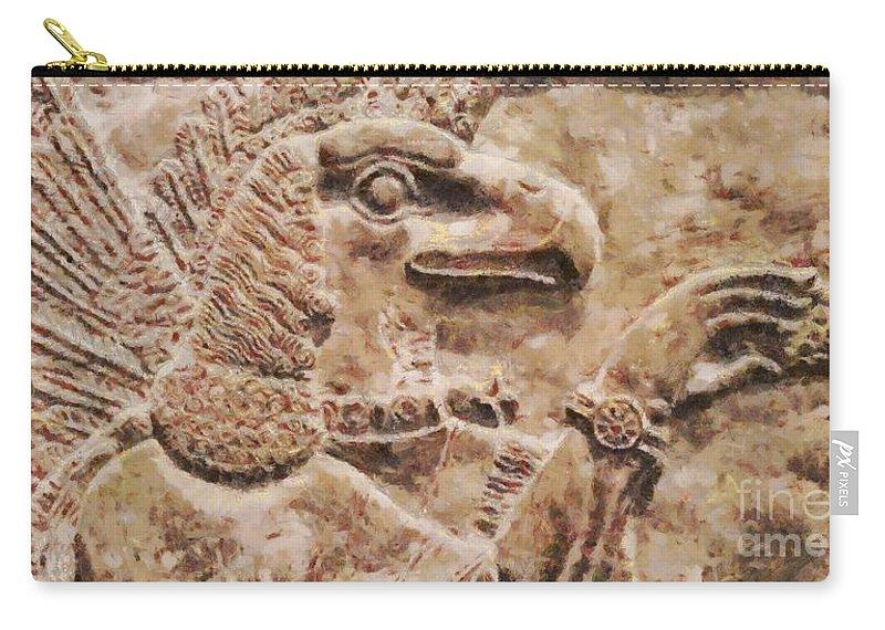 Anu God Of The Anunnaki By Sarah Kirk Carry-all Pouch