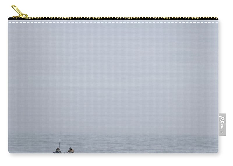 Couple Carry-all Pouch featuring the photograph Any Day At The Beach.... by David Kay
