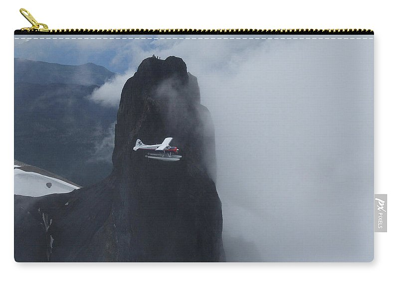 Aviation Carry-all Pouch featuring the photograph Aop At Black Tusk by Mark Alan Perry