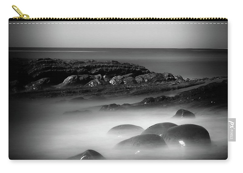 Bowling Ball Beach Carry-all Pouch featuring the photograph Another Dimension by Marnie Patchett