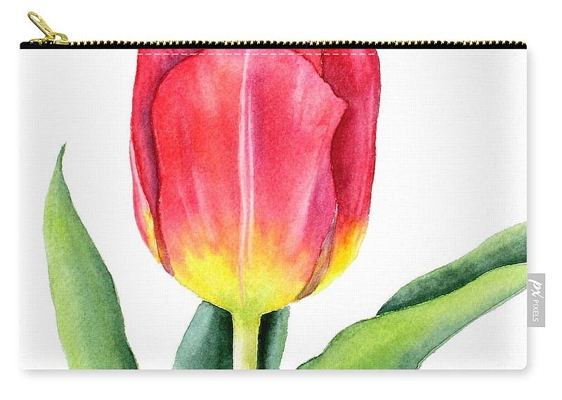 Apeldoorn Carry-all Pouch featuring the painting Apeldoorn by Deborah Ronglien