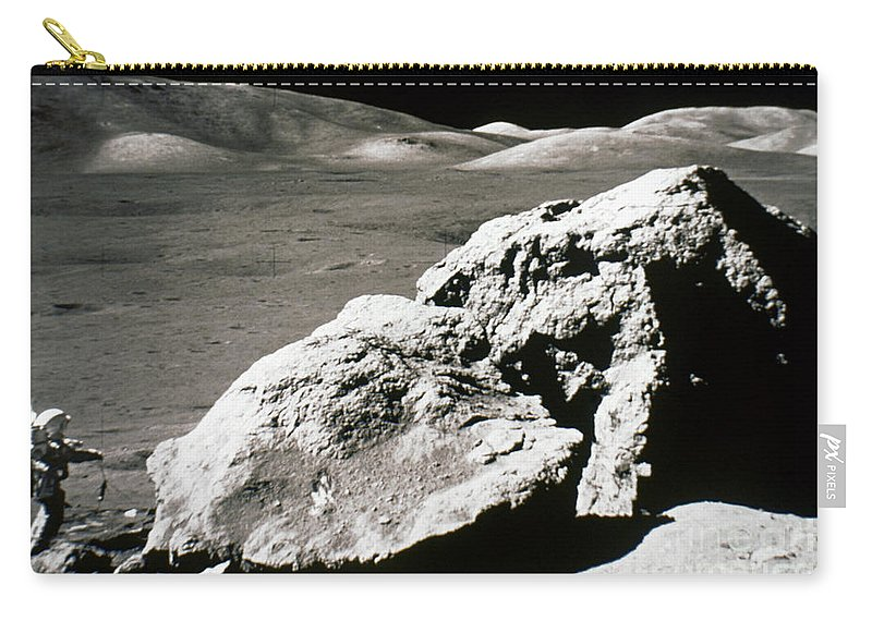1972 Carry-all Pouch featuring the photograph Apollo 17, December 1972: by Granger