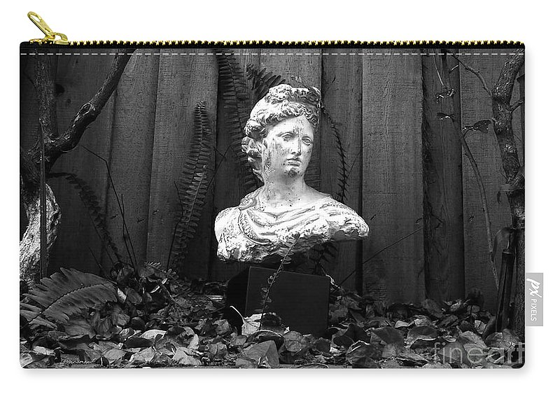 Apollo Carry-all Pouch featuring the photograph Apollo in the backyard by David Lee Thompson