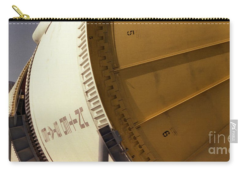 Technology Carry-all Pouch featuring the photograph Apollo Rocket by Richard Rizzo
