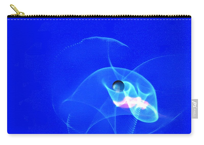 Abstract Carry-all Pouch featuring the photograph Apparition Pearl by Steve Karol
