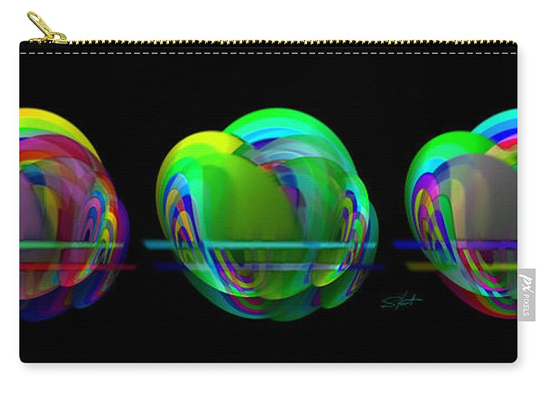Apples Carry-all Pouch featuring the painting Apples by Charles Stuart