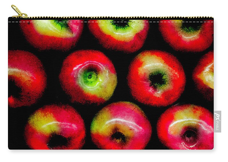 Apples Carry-all Pouch featuring the photograph Apples by Madeline Ellis